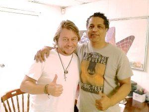 Con Fernando Osorio
